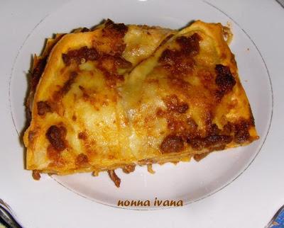 lasagne manzo melanz